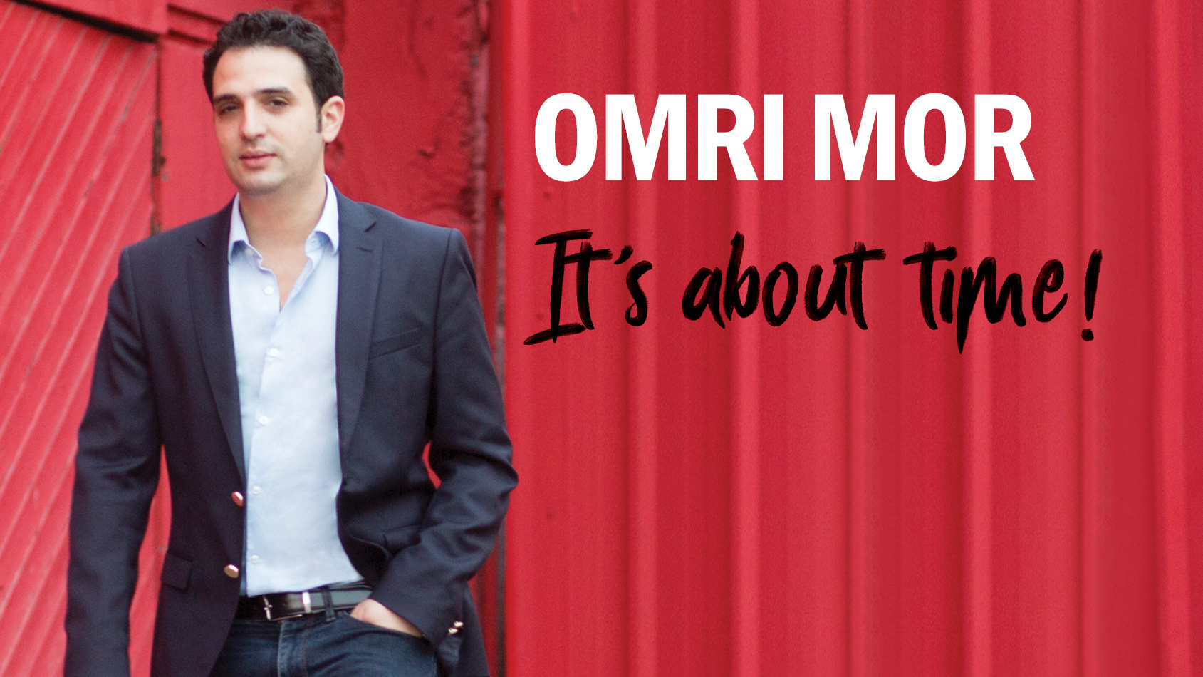 Omri Mor – It's About Time!