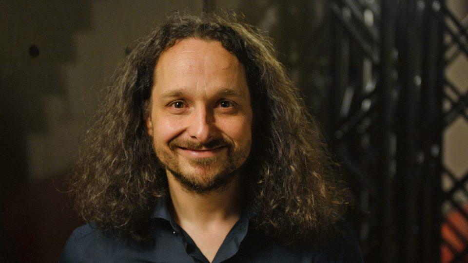 Saxofonista Michal Žáček
