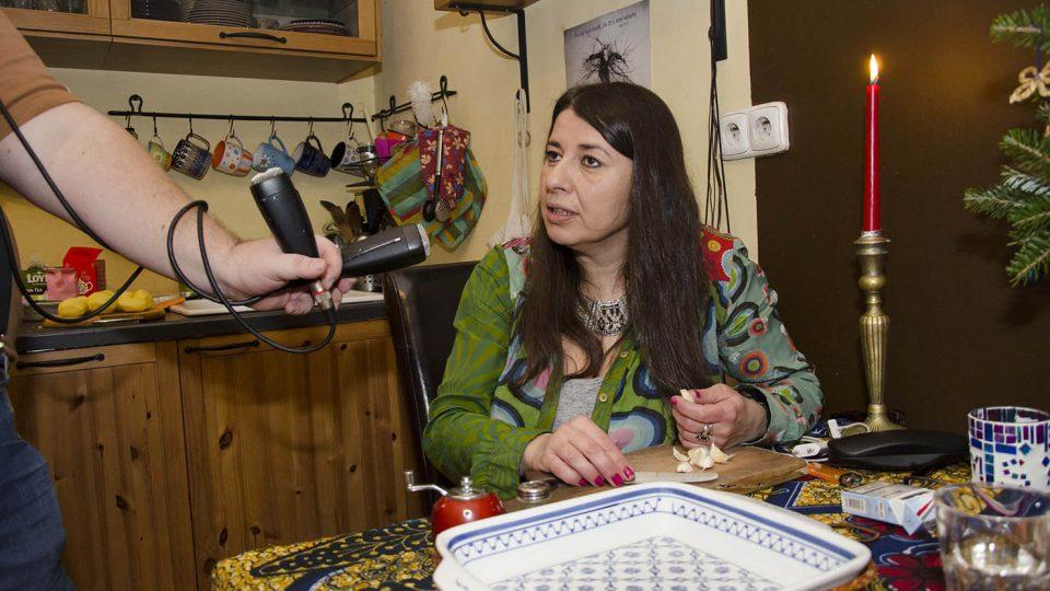 Yvonne Sanchez v pořadu Jazzové vaření