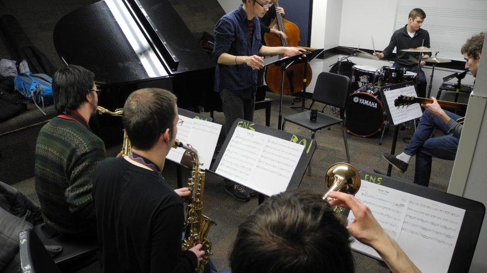 Berklee College of Music: Nahrávání školních projektů