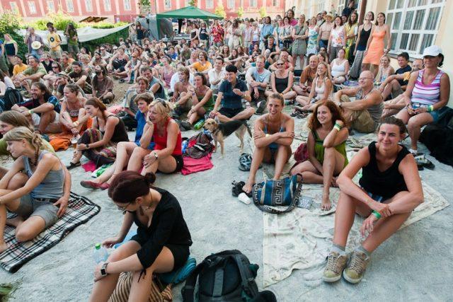 Návštěvníci Festivalu Boskovice