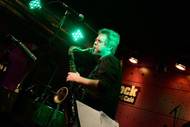 Saxofonista Marcel Bárta