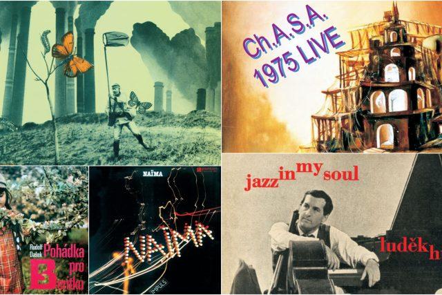 Reediční řada Významné nahrávky československého jazzu labelu Indies Happy Trails