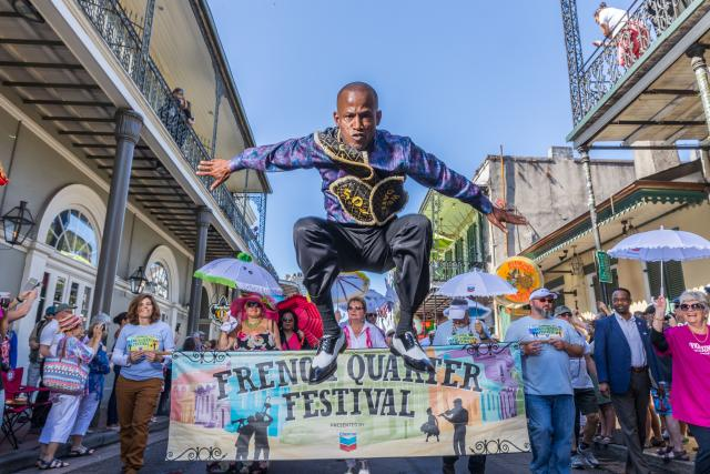 French Quarter Festival, New Orleans