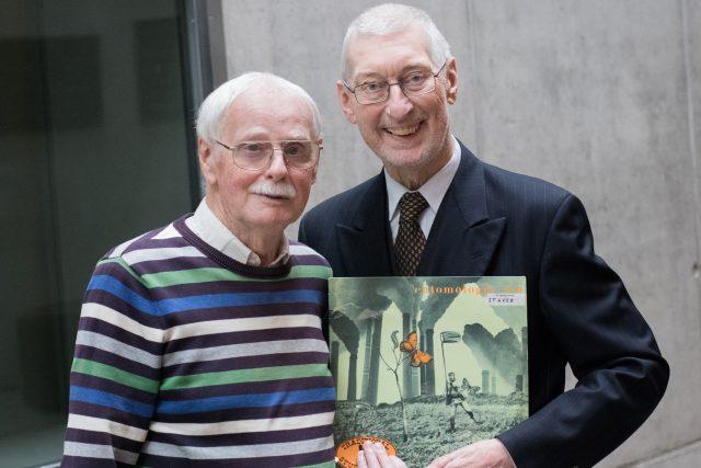 Antonín Bílý a Pavel Smetáček s albem Entomologův sen (Traditional Jazz Studio, 1972)