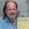 Lešek Semelka s deskou kapely Bohemia